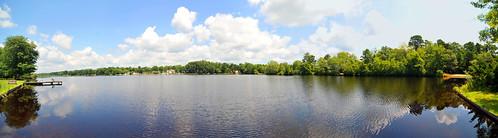 panorama lake water newjersey dock backyard nikon view brian tokina williamstown lakehouse d3 kushner timberlakes 1116 thelakehouse nikond3 tokina1116mm tokina1116mmf28atx116prodx bkushner ©brianekushner