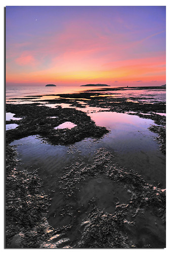Low Tide @ Tanjung Aru Beach