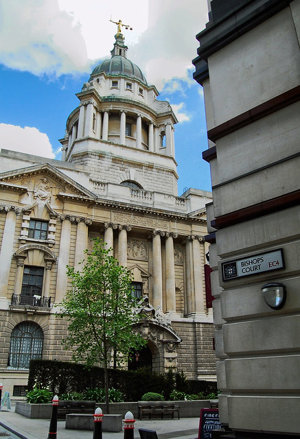 Old Bailey from Bishops Court