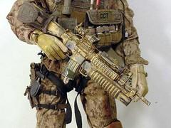 machine(0.0), mecha(0.0), soldier(1.0), weapon(1.0), machine gun(1.0), infantry(1.0), firearm(1.0), gun(1.0),