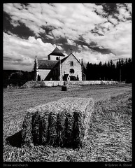 Straw and church