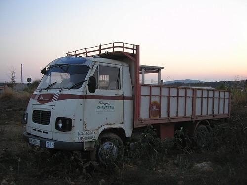 Camió Avia a La Bisbal d'Empordà (Girona)