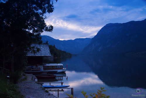 The Blue side of Lake Bohinj - Slovenija
