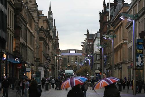 Glasgow Pedestrian Street