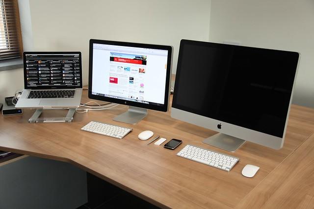 Uitpak party iMac en Magic Mouse