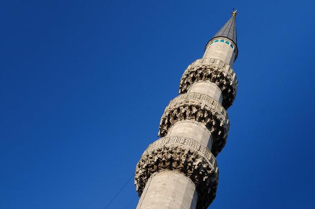 Minarett der Yeni-Moschee