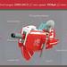 Red Tiger Speederbike - Overkill Oval by halfbeak