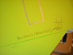 #4 is bandanas. Rachel added goofy drawings to each number, too.