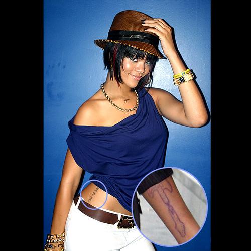 Tatuaje De Rihanna
