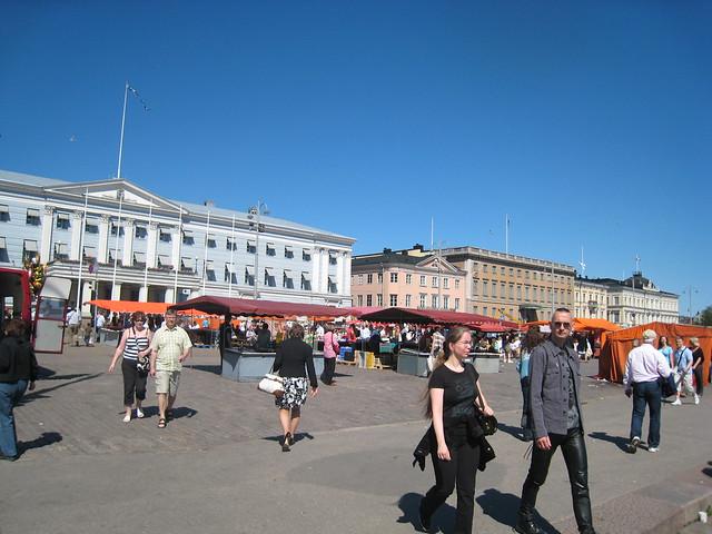 Verano suave en Helsinki