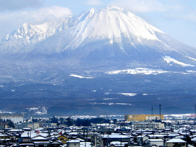 Yonago Japan  City new picture : Snowcapped Mount Daisen, Yonago, Japan, in winter | Flickr Photo ...