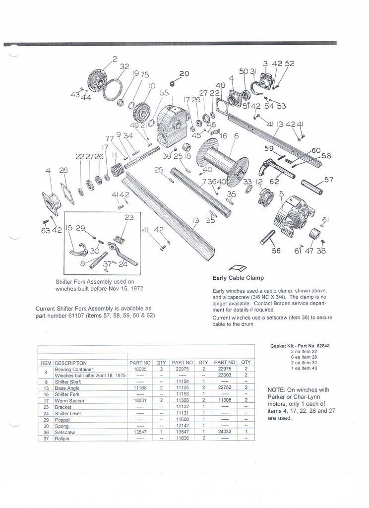 braden winch repair
