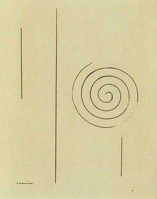Brancusi's portrait of James Joyce