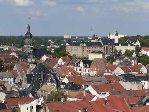 View over Altenburg