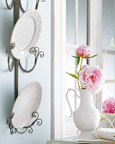 tabaklarla dekorasyon