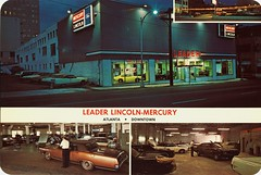 Leader Lincoln-Mercury, Atlanta GA, 1970s