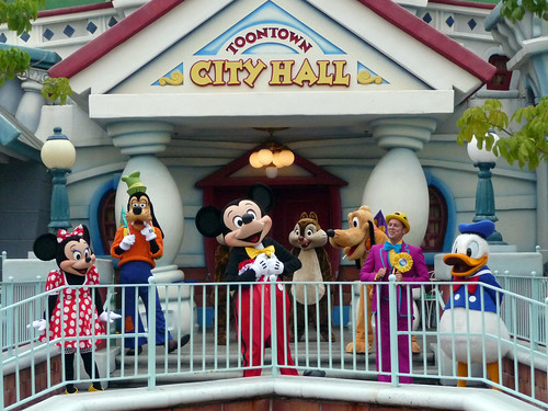 Honorary Toontown Citizens Ceremony