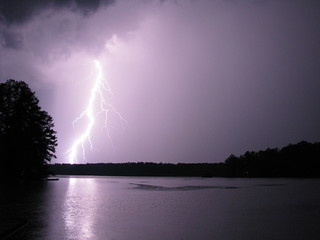 Lightning Over Lake Sinclair
