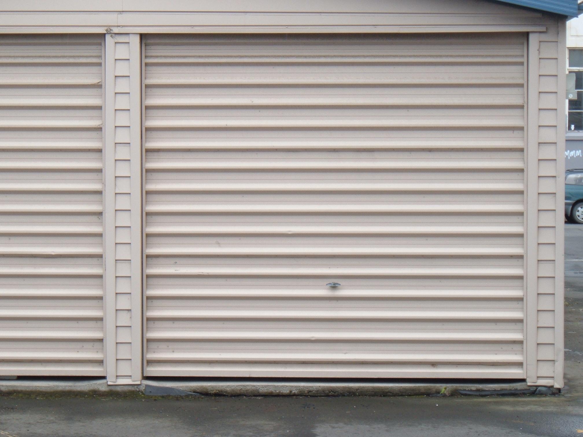 1512 #4E6473 Corrugated Steel Garage Door New Zealand Flickr Photo Sharing! wallpaper Steel Shop Doors 38652016