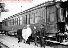 CIWL - WR Calais-Brindisi du Peninsular & Oriental Express - vers 1920 ? - Coll: J.J.B.