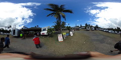 From the Giovanni Shrimp Truckstop in Kahuku - a 360° Equirectangular VR