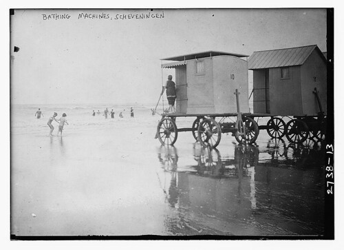 Bathing Machines, Scheveningen  (LOC)