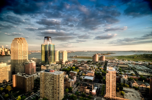 nyc newyorkcity sunset newyork skyline geotagged newjersey jerseycity cityscape hdr goldmansachs mudpig stevekelley