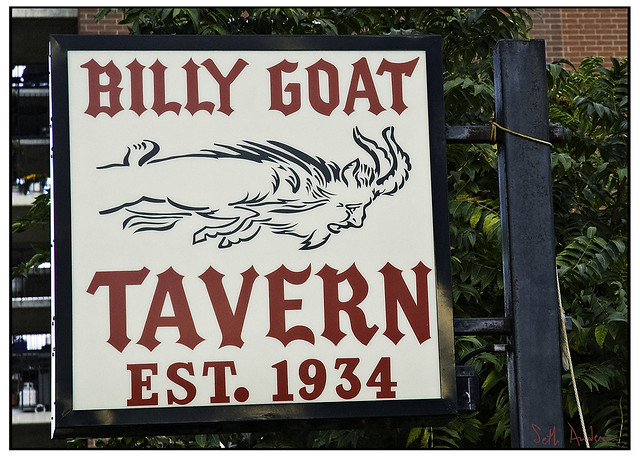 Billy Goat Tavern Est 1934