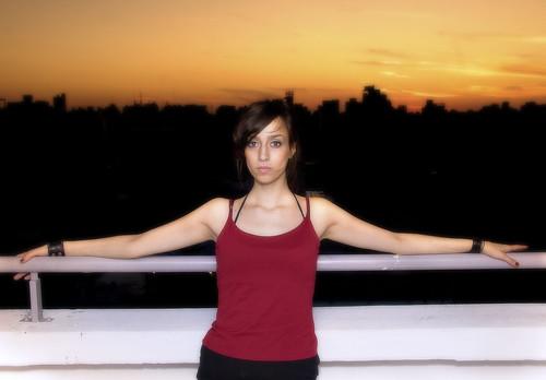 sunset portrait sol argentina look atardecer eva retrato ciudad rosario rosarina
