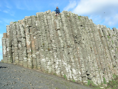 Giant's Causeway wall