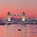 Tower Bridge & Skyline - London, England