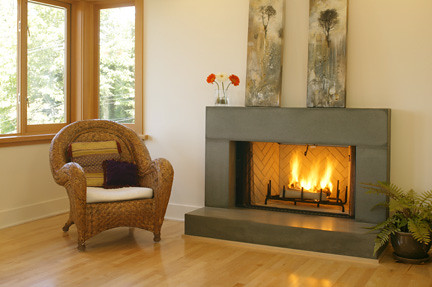 View 19 Best cement fireplace mantel images