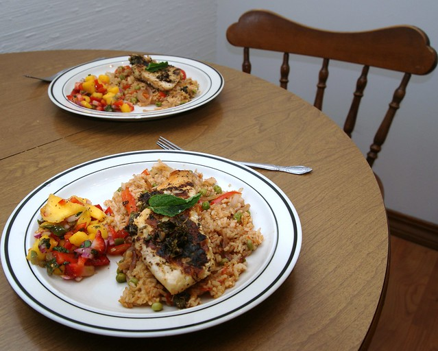 Grilled Tilapia with Mango Salsa | Explore gcmenezes' photos ...