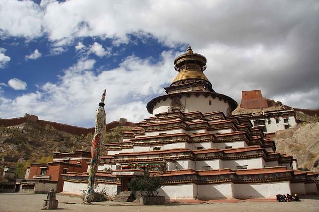 Gyantse, Kumbum Pagoda