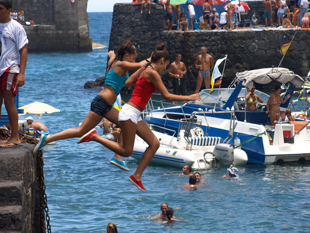 The July Fiestas on Tenerife