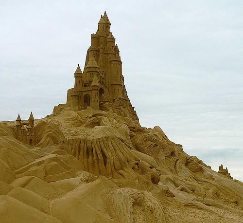 Zandsculptuur - Sandsculpture