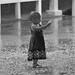Young fan in the rain by gutsygelding