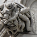 Praying mantis gargoyle