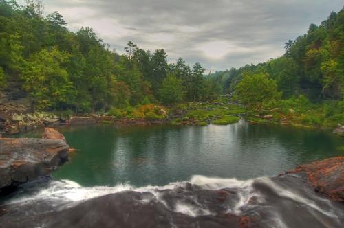 summer waterfall littlerivercanyon hdr littleriver dekalbcounty cherokeecounty littleriverfalls