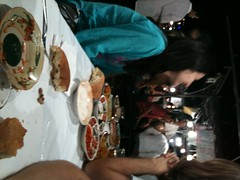 Food stalls, Jemaa, al Fnaa