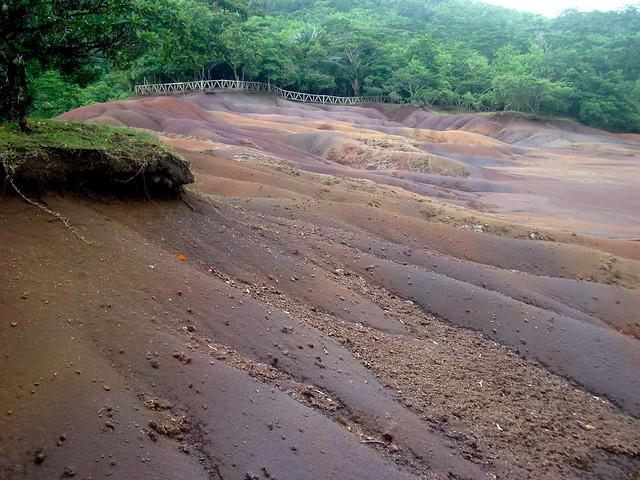 Isla de Mauricio. Llanura de Chamarel. Tierra de los Siete Colores