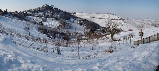 Montu' Beccaria (PV) Italia - panorama