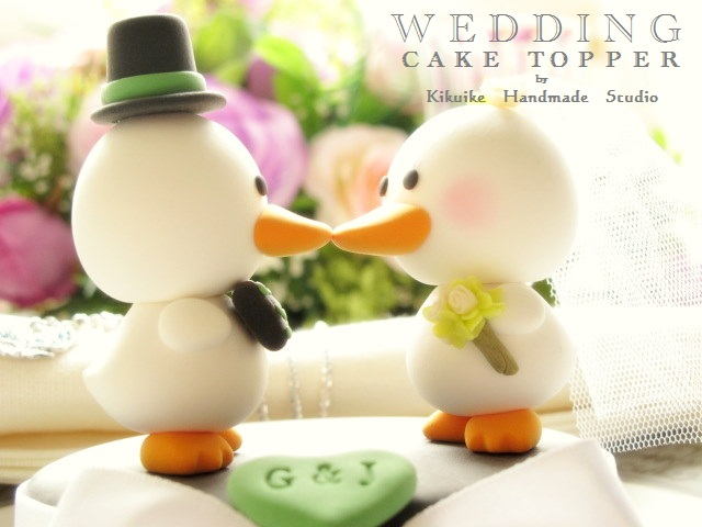 LOVE ANGELS Wedding Cake Topper-love duck - a photo on Flickriver