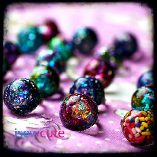 mini glitter domes summer line 2011 ttv
