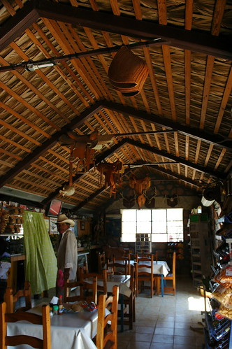 Rural Mexican Cowboy Restaurant and Gas Station, Baja California Sur, Mexico by Wonderlane