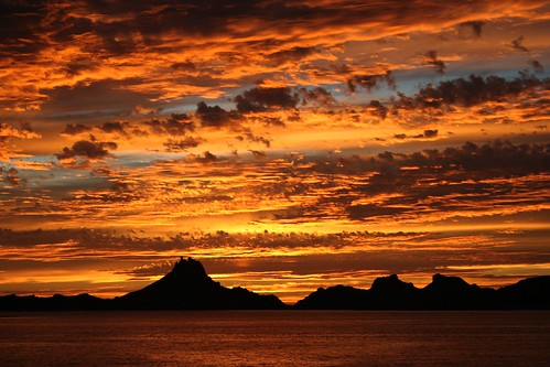 sunset sea sonora méxico clouds atardecer mar nubes cerros guaymas sancarlos tetakawi fanoquiriego regalodedios
