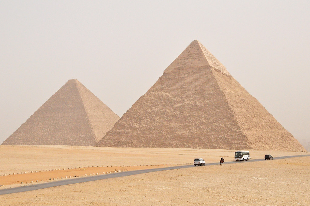 Pyramids, Giza.
