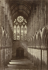 Glasgow Cathedral. Nave, looking West (Interior)
