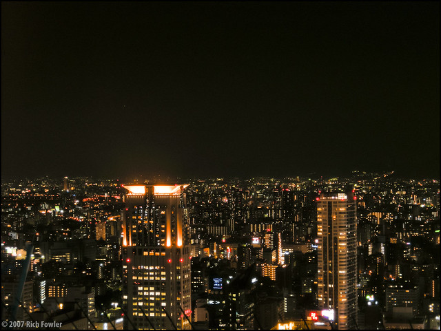 Kita Osaka at Night