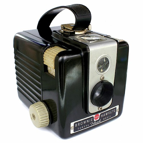 Kodak Brownie Hawkeye Flash Camera